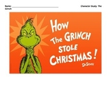 How the Grinch Stole Christmas Character Study