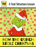 How the Grinch Stole Christmas! A Text Structure Lesson