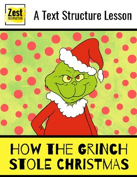 a text structure lesson how the grinch stole christmas a text structure lesson - How The Grinch Stole Christmas Pdf