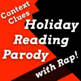 Grinch Reading Activities with Passage for Context Clues U
