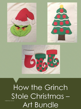 How the Grinch Stole Christmas Art Bundle
