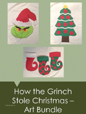How the Grinch Stole Christmas Art Bundle