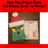 How the Grinch Stole Christmas..Book vs Movie? Graphing Craftivity