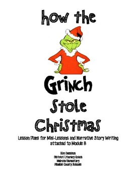 How the Grinch Stole Christmas: CCSS Narrative Story