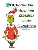 How the Grinch Stole Christmas Cloze Activity