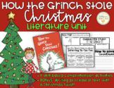 How the Grinch Stole Christmas! Comprehensive Literature Unit