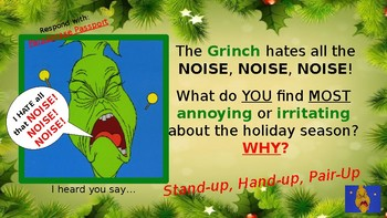 How the Grinch Stole Christmas Cooperative Learning Power Point
