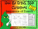 Grinch Cut & Paste Sequencing/Comprehension Activity!