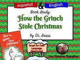 How the Grinch Stole Christmas English-Spanish bundle