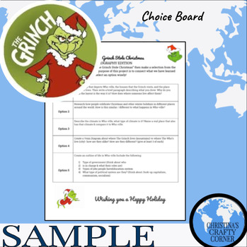 How the Grinch Stole Christmas: Geography Edition