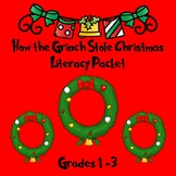How the Grinch Stole Christmas:  Literacy Packet