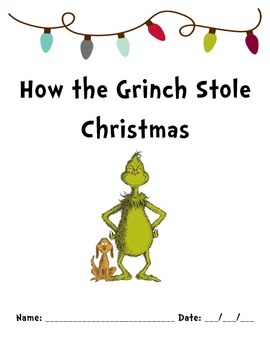 How the Grinch Stole Christmas Packet