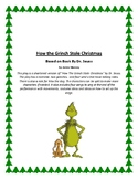 How the Grinch Stole Christmas Play - Based on Book By Dr. Seuss