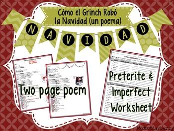 How the Grinch Stole Christmas Poem (Cómo el Grinch Robó la Navidad)