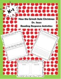 How the Grinch Stole Christmas Reading Activities