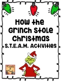 How the Grinch Stole Christmas S.T.E.A.M. Activities