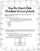 How the Grinch Stole Christmas Sensory Words - VA English SOL 4.5g