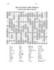 How the Grinch Stole Christmas Vocabulary Word Search
