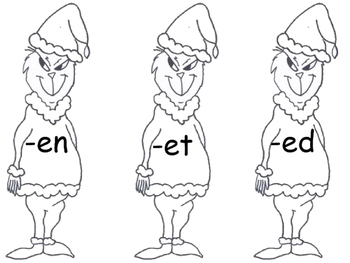 How the Grinch Stole Christmas - Word Families