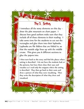 How the Grinch Stole Christmas Writing and Story Elements Unit -