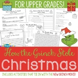 How the Grinch Stole Christmas for Upper Grades
