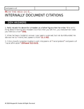 How the Heck Do I... Internally Document Sources