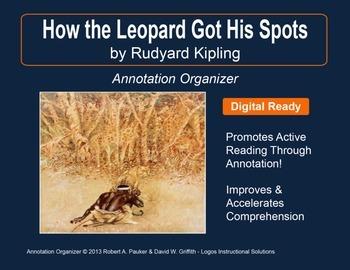 """How the Leopard Got His Spots"" by Rudyard Kipling: Annotation Organizer"
