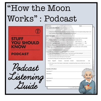 How the Moon Works Podcast Worksheet