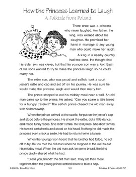 How the Princess Learned to Laugh (A Folktale from Poland)