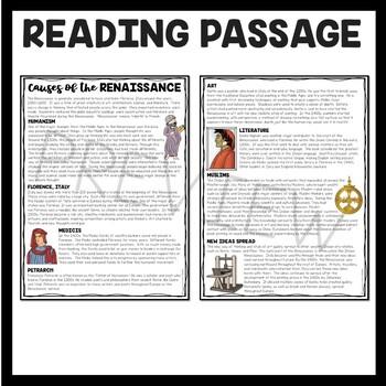 How the Renaissance Began Article, Questions, World, European History,