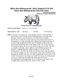 How the Rhino Got His Skin - Just So Reader's Theater for Small Groups