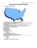 How the States Got Their Shapes: Mouthing Off worksheet guide