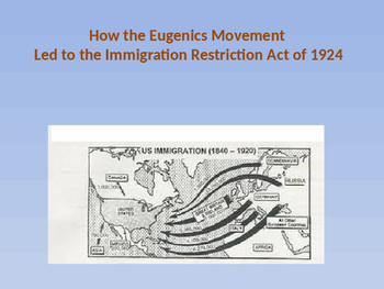 How the U.S. Eugenics Movement Led to the Immigration Rest