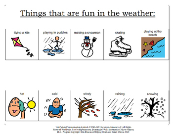 How the Weather Affects Your Environment - Activity Book