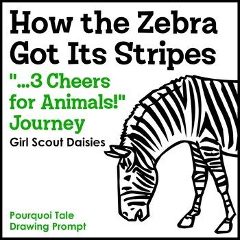 "How the Zebra Got Its Stripes Pourquoi Tale Prompt - ""...3"