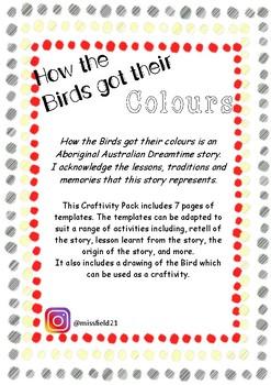 How the birds got their colours Aboriginal Dreamtime Story