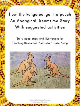 How the kangaroo got its pouch: Aboriginal Dreamtime Story