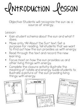 All About the Sun {Experiments & Non-Fiction Resources}