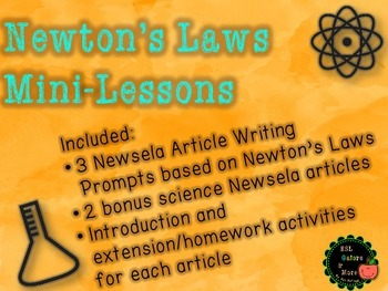 Newton's Laws of Motion Mini Lessons