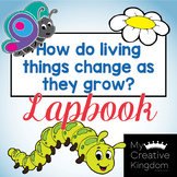 How things Change as they Grow Kindergarten Journeys Unit 4 Lesson 17 Lap book