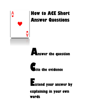 How to ACE Short Answer Questions