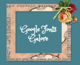 How to Add Fonts to Google Apps