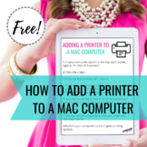 How to Add a Printer to a Mac Computer