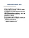 How to Analyze a 7th Grade CC Model Essay