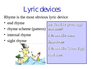 How to Analyze a Poem Power Point Lecture