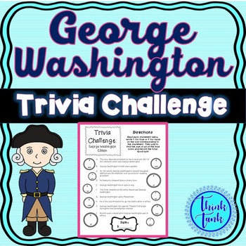 George Washington : President Trivia - U.S. History, Civics and Government