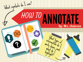 How to Annotate Text Presentation
