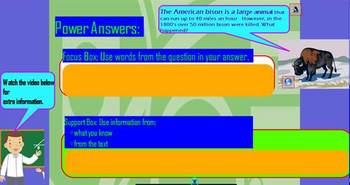 How to Answer Questions Completely  3rd-5th Common Core-R.I.3.1