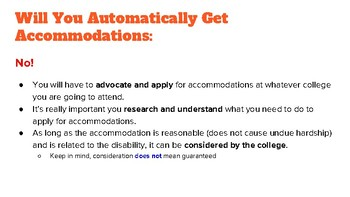 How to Apply for College Accommodations 101