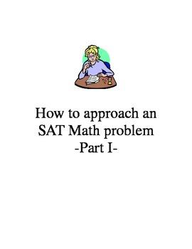How to Approach an SAT Math Problem